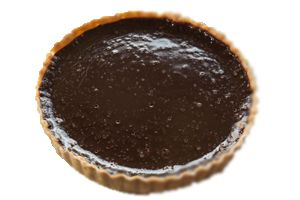 Alton Brown's Dairy-Free Chocolate Pie http://www.foodnetwork.com/recipes/alton-brown/moo-less-chocolate-pie-recipe/index.html