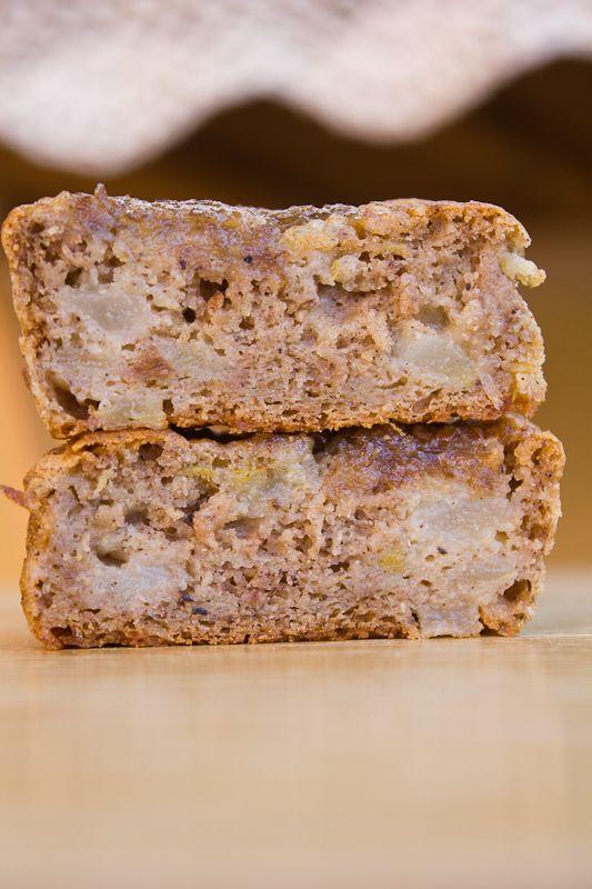 Polenta Pear Muffins (GF) | vegan. | Pinterest
