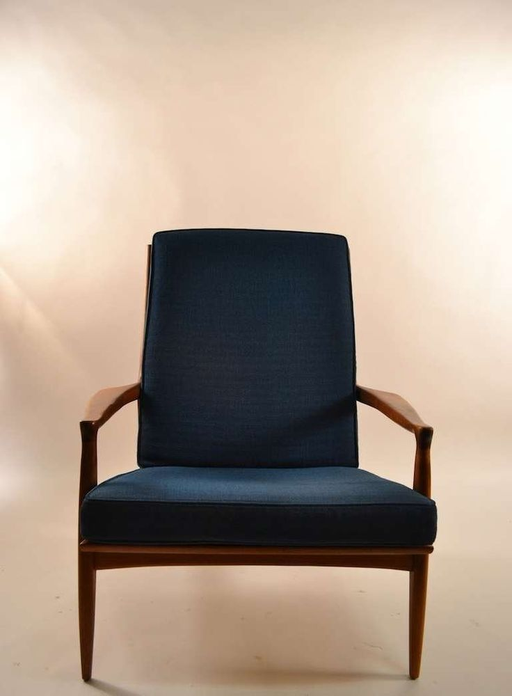 early milo baughman for thayer coggin walnut frame arm chair