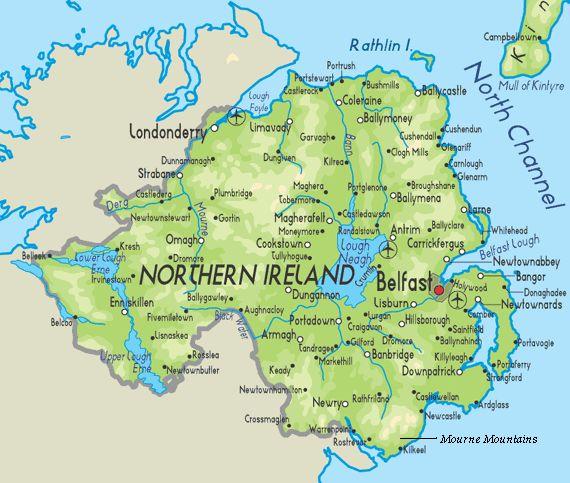 My heritage - Belfast, Tandragee, Armagh, Bangor, Lisburn, Donaghadee.