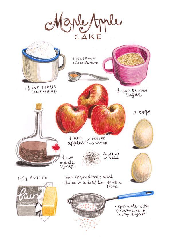 Illustrated Recipes by Felicita Sala