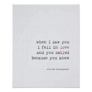 Van de het citaatkunst van de liefde de typografie poster