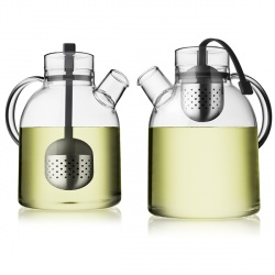 MENU's Glass Kettle Teapot is a fusion between the Asian zen philosophy and modern Scandinavian architecture
