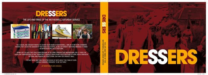 Dressers, ltd edition Motherwell Saturday Service book