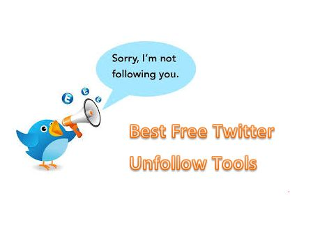 Best Free Twitter Unfollow tools — very helpful to unfollow somebody on twitter. But why unfollow, good reason is simply because they don't follow you back.  I follow lots of people on Twitter and interact with them. I found some of them still active but many of them stop using their account. I had been tweeting as a newbie and followed people without any thinking.