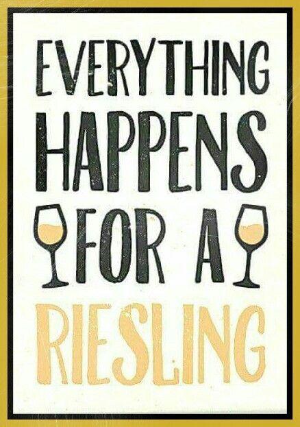 Riesling... Wine