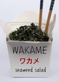 Wakame Seaweed Salad (Japanese recipe)