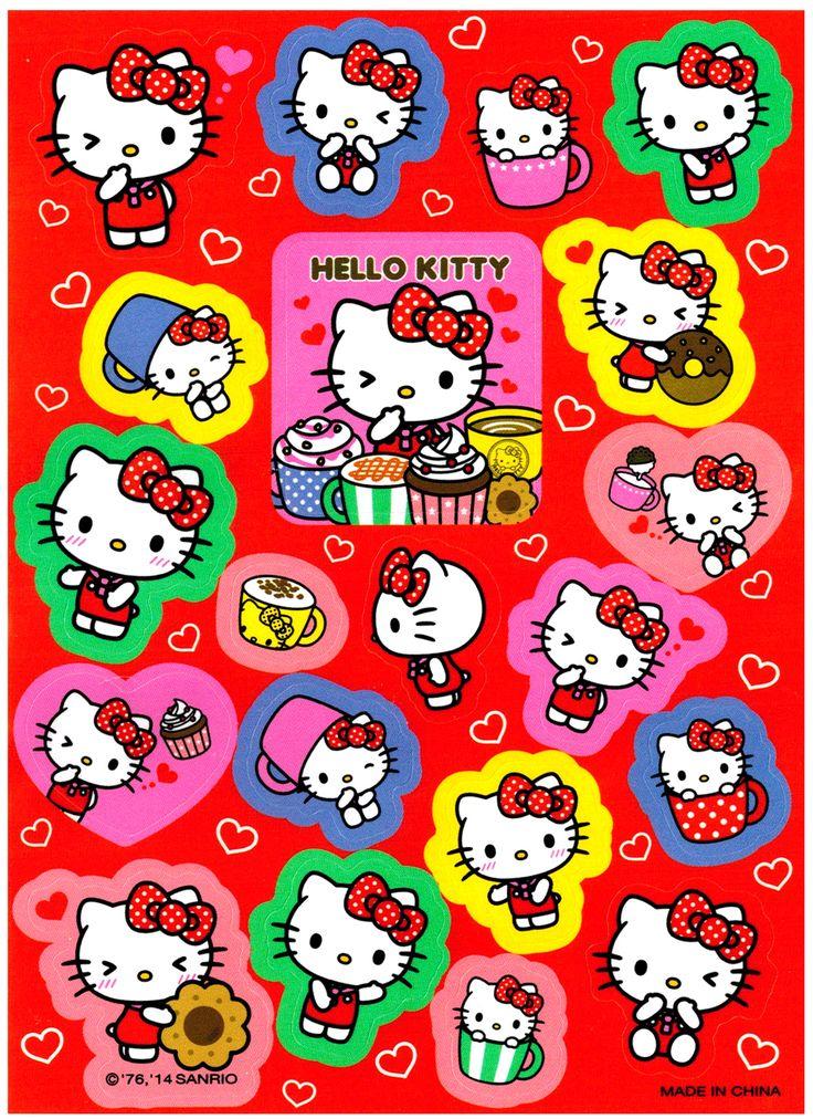 Sanrio Hello Kitty Sweet Treats Die-Cut Sticker Sheet