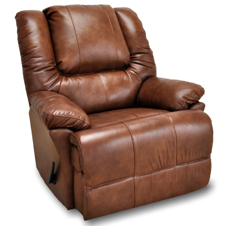 leather recliner with brown color