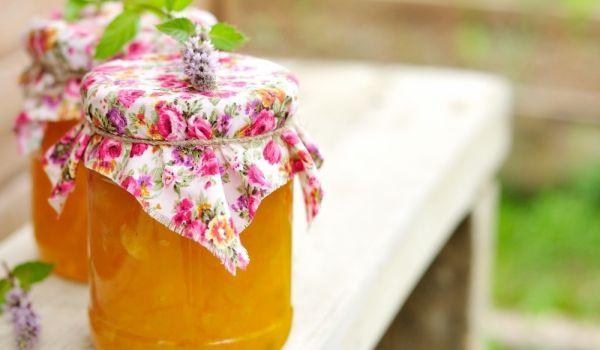 Тиквен конфитюр с мандарини