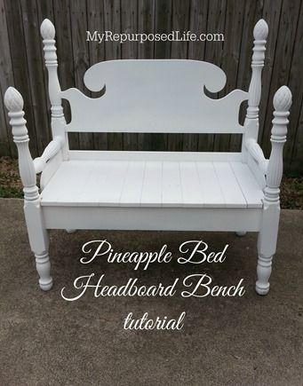 Going to turn my Grandpa's pineapple bed into a bench for my new deck!  It's going to be so awesome, and I get to keep that piece of him!