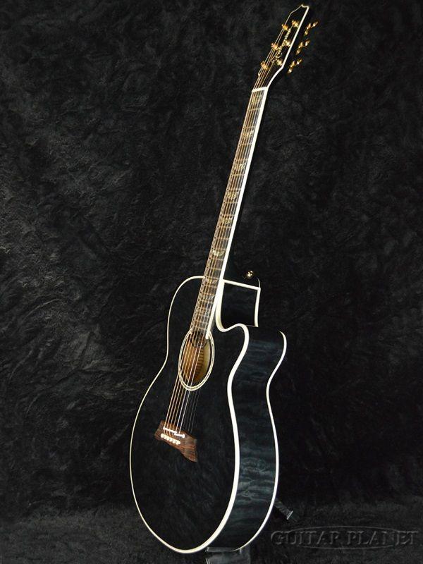 【送料無料】TakamineDMP181ACSBLQuiltMaple新品[タカミネ][国産][キルトメイプル][Black,ブラック,黒][エレアコ,エレクトリックアコースティックギター,ElectricAcousticGuitar,フォークギター,FolkGuitar]