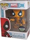 Funko Pop! Vinyl Marvel Bobblehead Figure Deadpool XMEN RARE Yellow Blue Variant - Blue, BOBBLEHEAD, Deadpool, figure, Funko, Marvel, Rare, Variant, Vinyl, XMen, Yellow