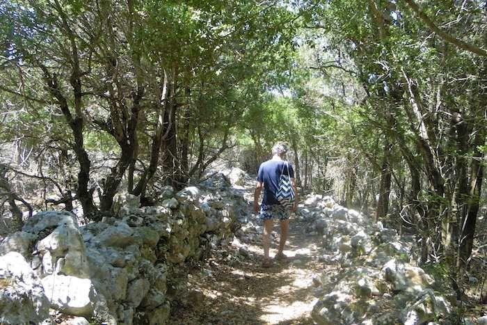 Cephalonia's Battery Trail takes you to WW2 sites