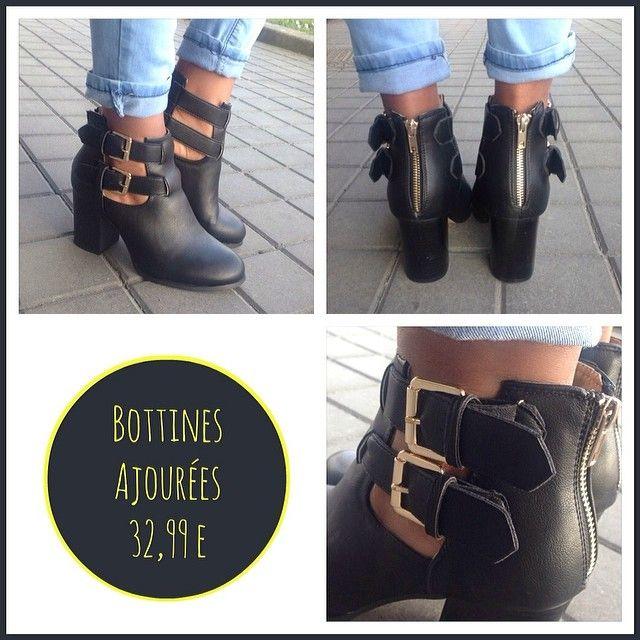 Bottine Ajouré #Lamodeuse #Bottine #Ajouré #Shoes #Femme #Atalon