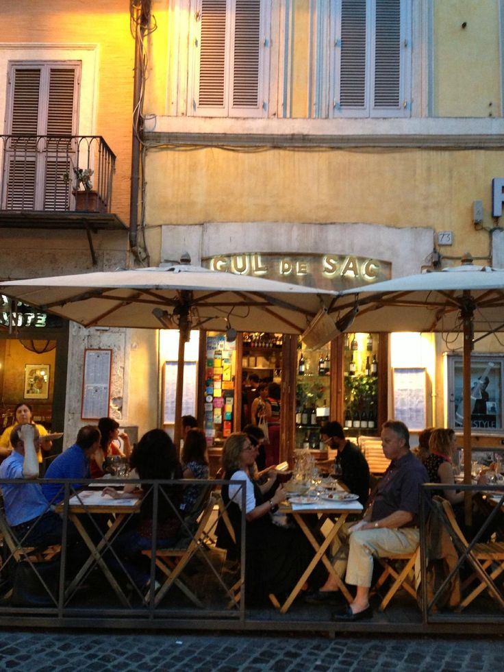 Cul de sac piazza pasquino 73 00186 rome dk recommended for Food bar 810