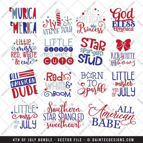 Featured here is our 4th of July Bundle - Vector Cut File. This is for the whole bundle instead of buying each file individually. There are 15 compressed zip files in this purchase. You will receive 3 downloads with 5folders within each download; a total of 96 files!  Coupons are notapplicableon this bundle.   Full details can be found below.