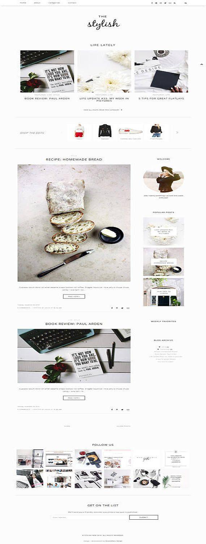 143 best Cute & Pretty Blog Designs images on Pinterest | Website ...
