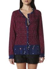 Raspberry Bandhini Shirt   <3  <3