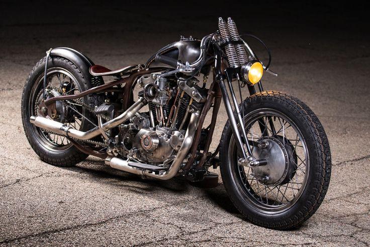 1970 Harley-Davidson Custom Bobber for sale via Rocker.co