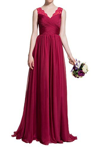 MILANO BRIDE Chic Bridesmaid Dress Prom Ball Dress V-neck... https://www.amazon.com/dp/B06WD58P6C/ref=cm_sw_r_pi_dp_x_4080zb0NEGDAY