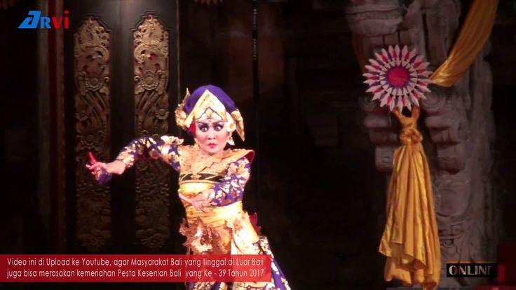 Tari Truna Jaya, Duta Kabupaten Badung - Pesta Kesenian Bali 2017