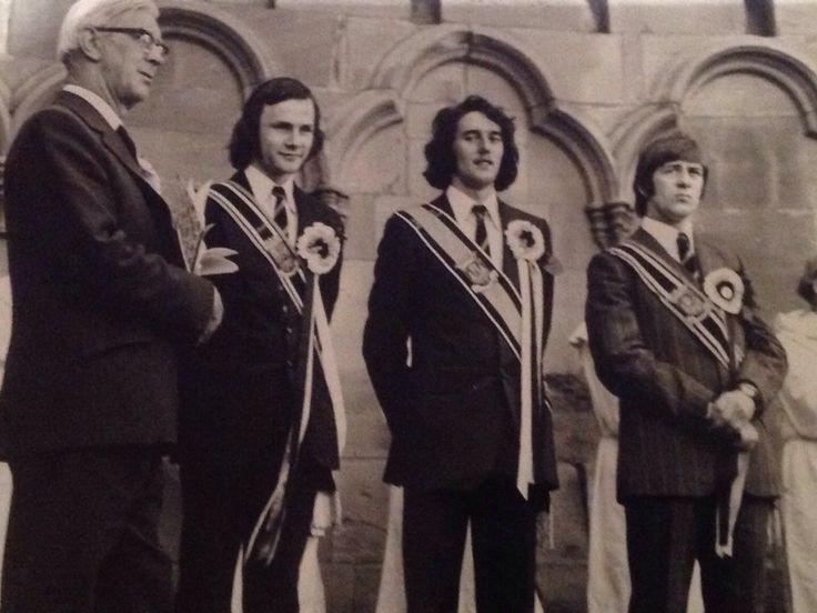 Melrose Festival 1975 Steve Clinkscale ( Melrosian ) Right Hand Man Roy Mack Left Hand Man Douglas Hardie