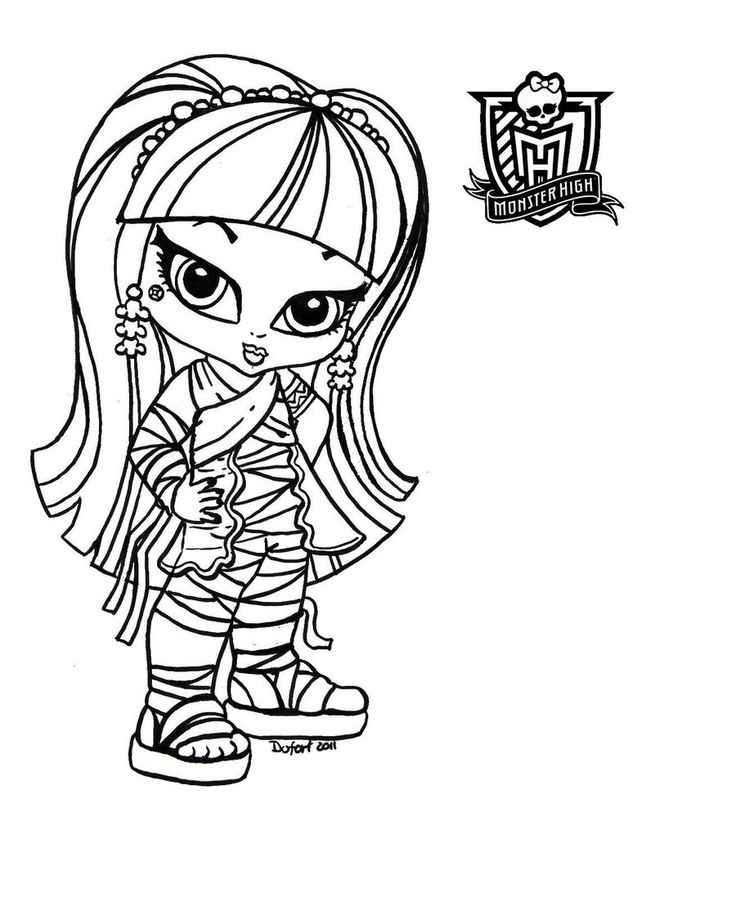 Monster High Printable Coloring Pages Photo 900x1125
