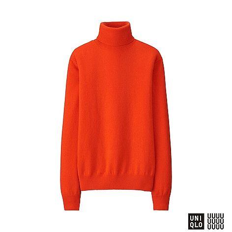 WOMEN UNIQLO U 100% Cashmere Turtle Neck Sweater (7 colours)