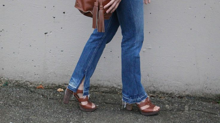 Vintage Levi's reconstructed...check out www.thatsewcute.com for DIY vintage jeans inspirations!