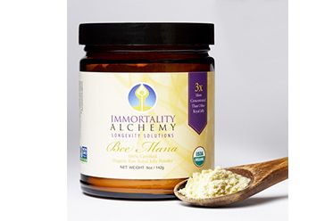 Bee Mana, an anti-aging formula also known as Royal Jelly, is believed to hold the secret to youth