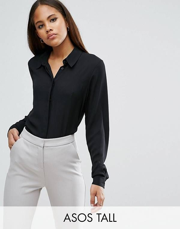 ASOS DESIGN Tall soft shirt