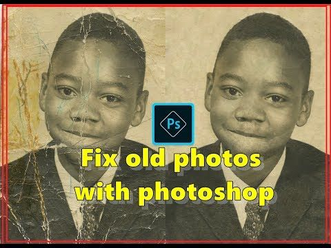 Fix old photos with photoshop  ---------------------------------------------------------------------------------------------------------------  Download Photoshop free and light copy  Photoshop.Portable.CS6