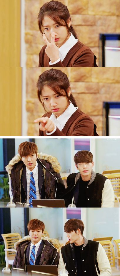 "Kim Woo Bin, Lee Min Ho and Park Shin Hye ♡ #Kdrama - ""HEIRS"" / ""THE INHERITORS"" //:"