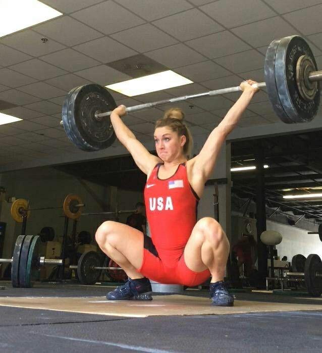 Mattie Rogers @mattiecakesssss- #olympicweightlifting