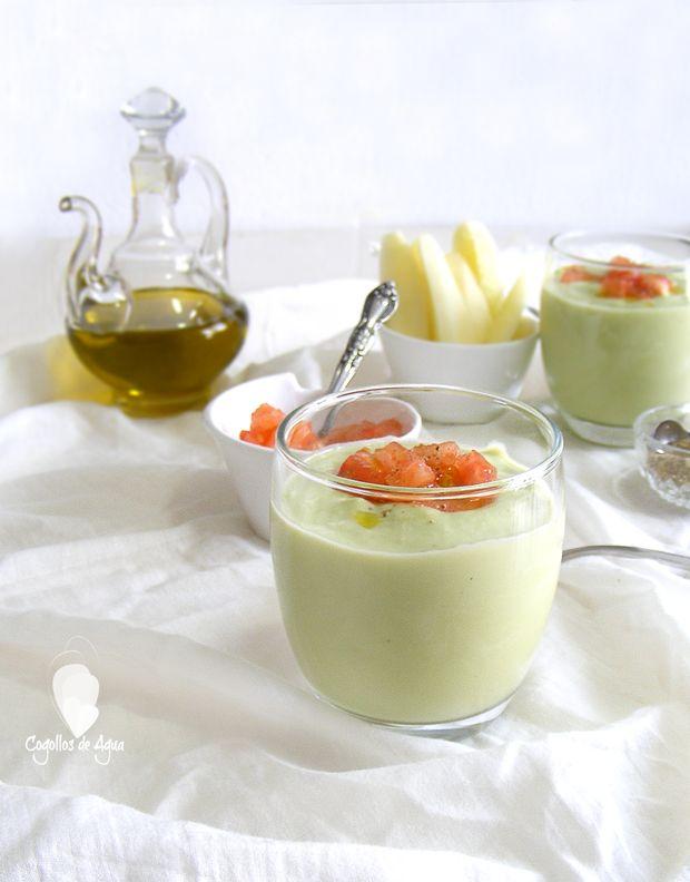 Crema Fria De Pepino Y Aguacate