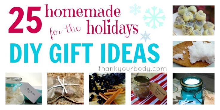 25 Amazing DIY Gift Ideas