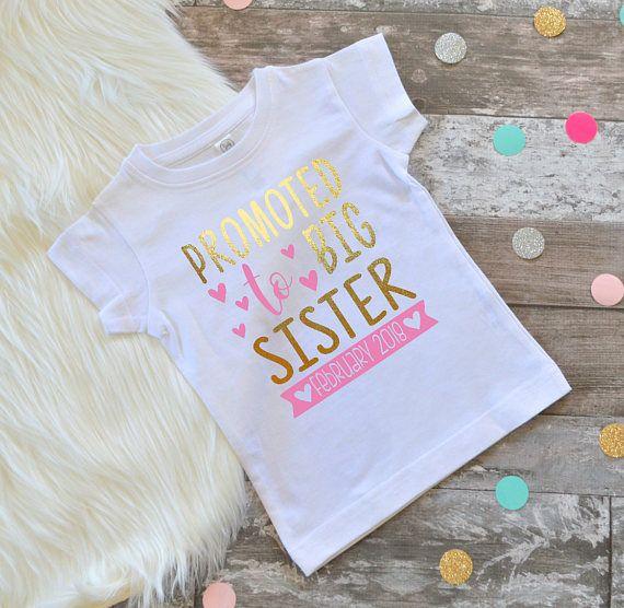 Big Sister shirt big sister shirt big sister announcement new