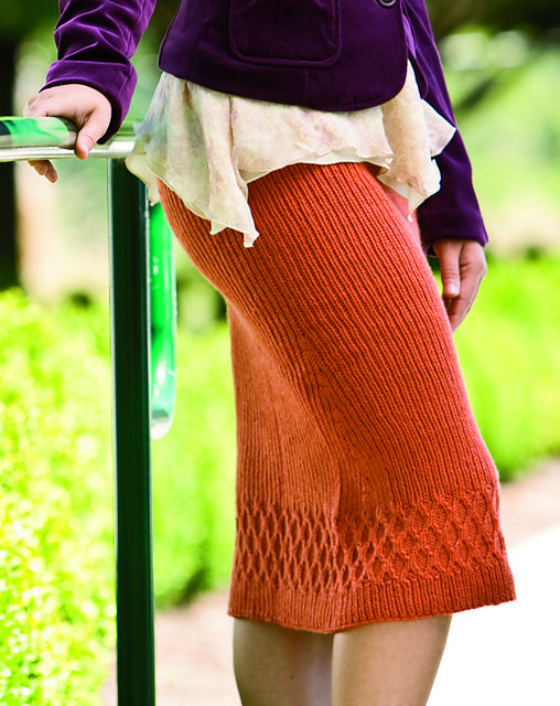 this is a pretty skirt... Ravelry: Althea Skirt pattern by Snowden Becker