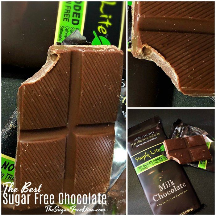 Enjoying Chocolate Without The Added Sugar Can Be Tricky That Is Why I Came Up With This List Of The Best Su Chocolate Candy Bar Chocolate Candy Sugar Free