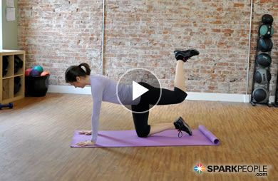 6-Minute Butt Blasting Workout Video via @SparkPeople