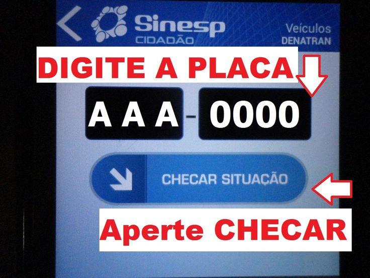 Superdica: Aplicativo para consulta de veículos pela placa (Sinesp Cidad...