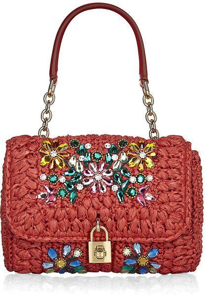 Miss Dolce Mediterranean Crystal Bag