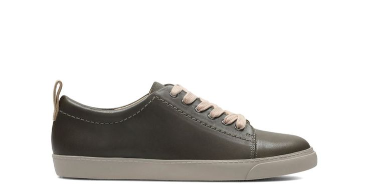 Glove Echo Grey Leather | Clarks