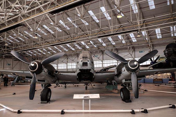 RAF Cosford Me410