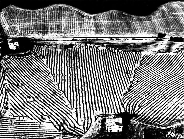 [ Graphic Tonality ] Mario Giacomelli, Paesaggio 283