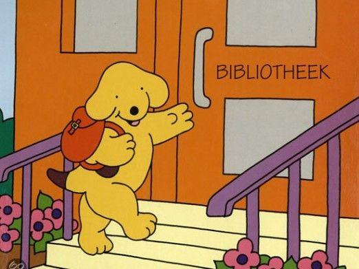 Dribbel gaat naar de bibliotheek