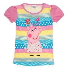 Camisa das meninas t 2016 Nova chegada crianças t para a menina Nova crianças marca de roupas de verão meninas crianças top roupas(China (Mainland))