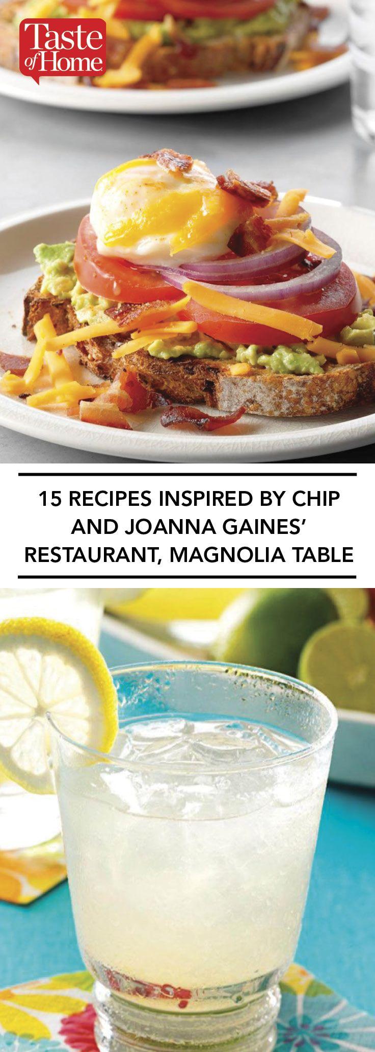 15 Rezepte inspiriert von Chip und Joanna Gaines 'Restaurant, Magnolia Table