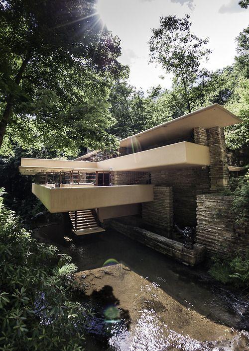 Falling Water - Kaufman House by frank Lloyd wright